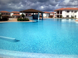 Freshwater pool at Tortuga